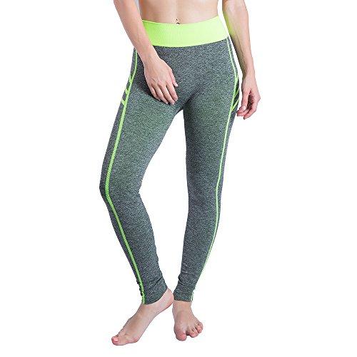 Pantalones Yoga Deportivas Mujer Leggins Elastico Cintura Polainas para  Danza. 4737c4b03dec