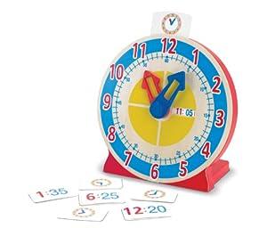 Melissa & Doug - Reloj para Girar y Ver la Hora (14284) de Melissa & Doug LLC