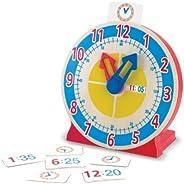 Melissa & Doug   Reloj para Girar Y Ver La Hora   Juguetes de desarollo   4+ Y