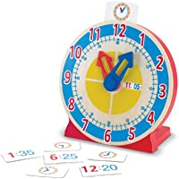 Melissa & Doug - Reloj para girar y ver la hora (14284)