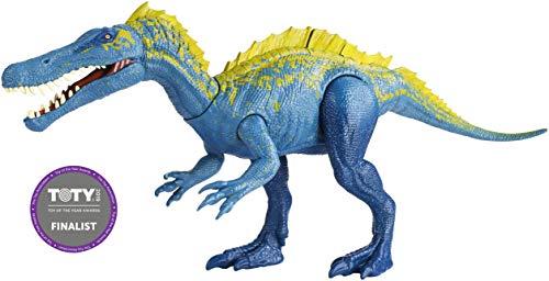 Jurassic World Dinosaurio Suchomimus de ataque, dinosaurio de juguete (Mattel FVJ94)