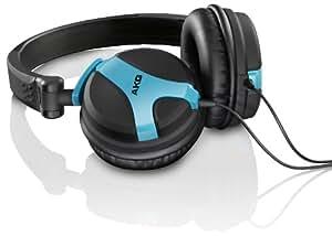 AKG K 518 NE Cuffie Tradizionali per DJ, Colore: Neon Blue