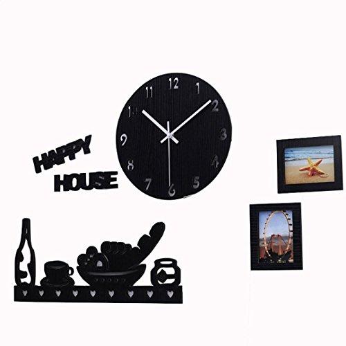 Orologio da parete Ysayc Soggiorno Camera da letto arte muta