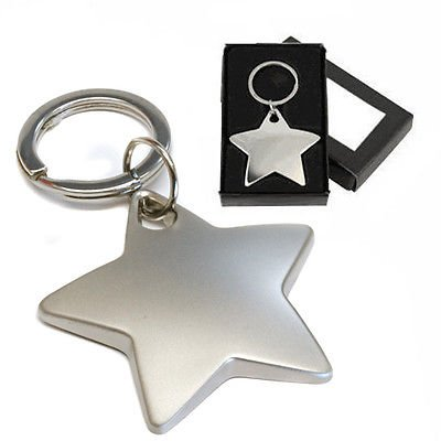 personalised-chrome-star-keyring-engraved-free