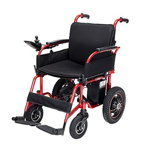 Elektrische faltbaren Rollstuhl Rakete Klapp elektrischen selbstfahr Rollstuhl/Elektro-Rollstuhl mit Panasonic Lithium-Batterie, Bluetooth Musik, Radio