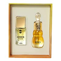 Ajmal Amber in love by Ajmal - perfume for men and - perfumes for women - Eau de Parfum 14ml & Perfume Oil 12ml