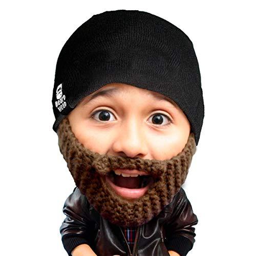 Beard Head Kinder Populous Bartmütze – Lustige Strickmütze -