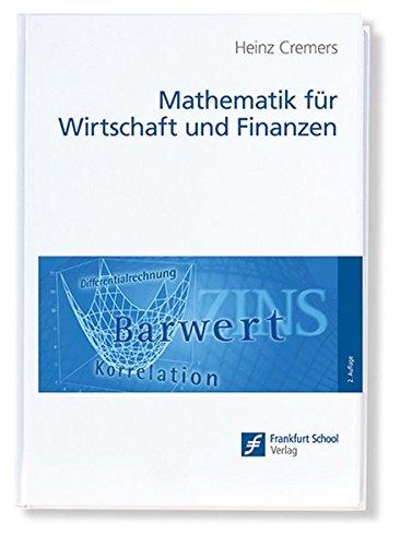Mathematik für Wirtschaft und Finanzen: Analytik