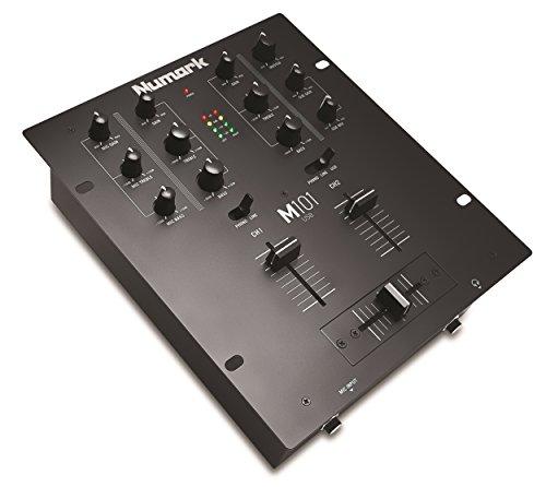 Numark M101 USB BK 2-Kanal DJ Mixer mit USB-Anschluss Numark Dj Mixer