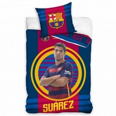 Luis Suarez et FC Barcelone Player Housse de Couette