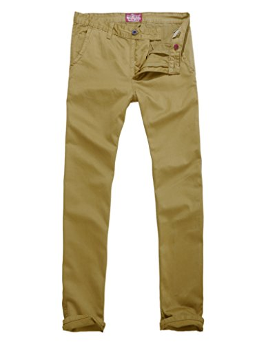 Match Uomo Pantaloni Casual Slim #8025 8025 Cachi(Khaki)