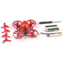 Delicacydex Happymodel Snapper6 Drone Quadcopter de 65 mm Micro sin escobillas FPV Racing RC Drone con F3 OSD BLHeli_S 5A ESC BNF