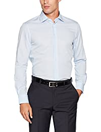 Tommy Hilfiger Tailored Core Poplin Classic Shirt, Chemise Business Homme
