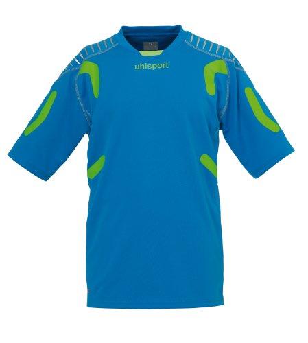 uhlsport Torwarttech Shirt KA cyan/grünflash