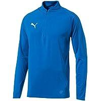 Puma Herren Final 1/4 Zip Training Sweatshirt