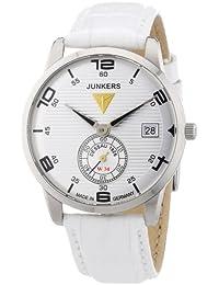 Junkers Damen-Armbanduhr Wellblech Flatline Lady Ronda6004 Analog Quarz Leder 63355
