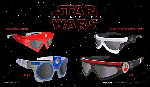 Star Wars - Die letzten Jedi - 3D Brillen
