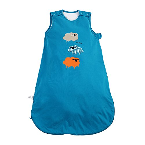 I-baby sacchi nanna estivi leggeri neonato sacco a pelo bimbo sacchi letto bimba sacchiletto sonno cotone quattro stagioni senza maniche per bambino piccolo morbido 0 6 12 18 24 36 mesi 3 tog