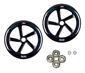 Hudora 14784Set Rueda de Repuesto para Big Wheel 205-Ruedas de Repuesto para patinetes