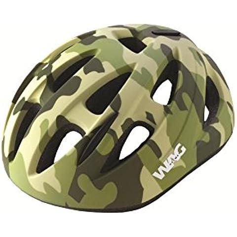 Wag Casco Sky niño talla XS camuflaje verde (Cascos Junior)/Helmet Sky Boy Size XS Camouflage Green (Junior Helmets)