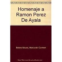 Homenaje a Ramón Pérez de Ayala
