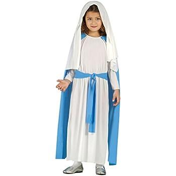 Costume da Vergine Maria bambina recita Madonna Presepe