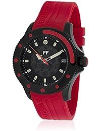 Folli Follie WF1Y0027DR - Reloj con correa de cuero para hombre, multicolor
