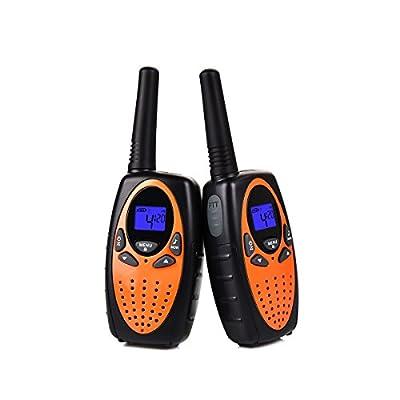 Upgrow Walkie Talkies 8 Channel 2 Way Radio Kids Toys Wireless 0.5W PMR446 Long Distance Range Walkie Talkie for Field Survival Biking and Hiking