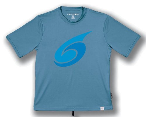 NeoSport Herren Short Sleeve Watershirt, Herren, Slate - Reiten-shirt Coolmax