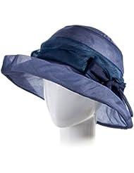 LWT-sombrero sombrero de verano de verano sombra de marea de seda de seda plegable sombrero de sol al aire libre de viajes de ocio cuenca de seda de tela de seda elegante noble y suave