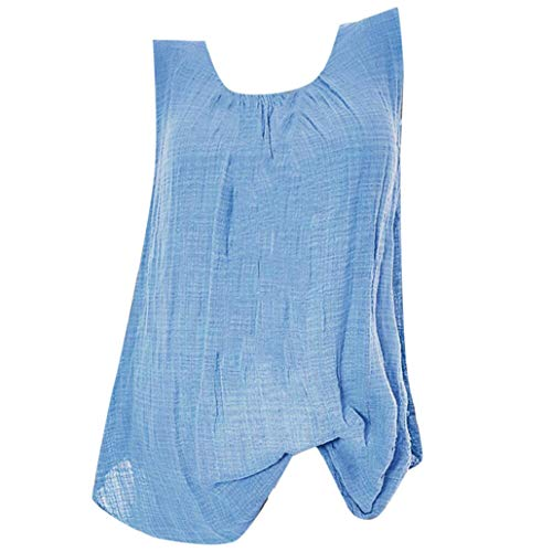 Damen Spitze Top Bluelucon, Sommer Tank Top Casual Kurz Oberteil Elegant ärmelloses T-Shirt Basic Bluse Blusentop Tanktop Große Größen - Stiftung Schwarzes T-shirt