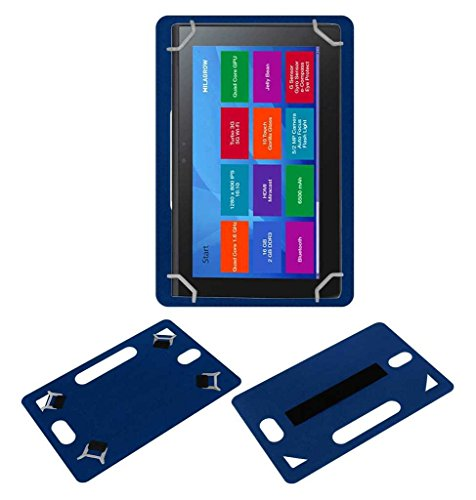 Acm Leather Back Hand Case for Milagrow M8 Pro Tablet Cover Blue  available at amazon for Rs.449