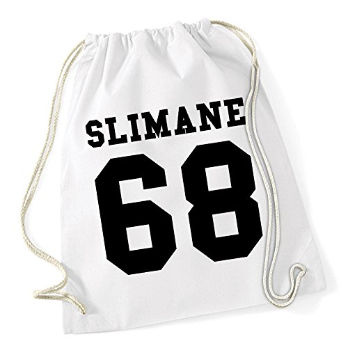 Slimane 68 Sac De Gym Blanc Certified Freak