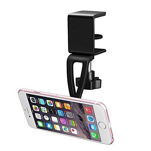 BESTEK Magnet Schreibtisch Handyhalterung, Universal Hängend Tischhalterung, Smartphone Handyhalter für iPhone X/8/7/6s/6, Samsung Galaxy S7/S8/S6, Huawei P9, iPad Pro, iPad Air, LG, Sony, GPS Gerät