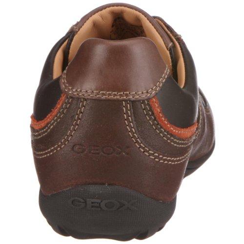 Geox U0326S 4322 C0607  Uomo Compass, Herren Sneaker Braun (Coffee/Orange)