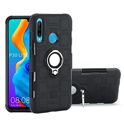 dbf056891ae YUQINN-Cellphone Cases Fundas Estuche Protector liviano de Doble Capa para  Armadura híbrida 2 en 1 PC + TPU a Prueba de Golpes para Huawei P30 Lite,  ...