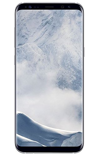 Samsung Galaxy S8+ Smartphone (6,2 Zoll (15,8 cm) Touch-Display, 64GB interner Speicher, Android OS) arctic silver