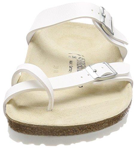 Birkenstock Mayari 71053, Infradito donna - Bianco bianco (Weiß (weiss))