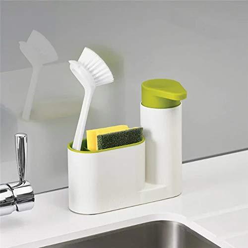 Tyro - Esponja Multifuncional, 2 en 1, para Almacenamiento de Cocina, para Fregadero, detergente, dispensador de jabón, Botella, Organizador de Utensilios de Cocina