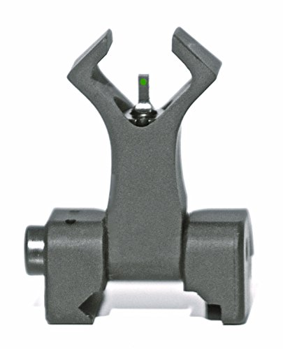 Diamondhead Front Combat Sight - Diamond (W/Tritium) (Black) - Folding Iron Sight - Lifetime Warranty by Diamondhead USA