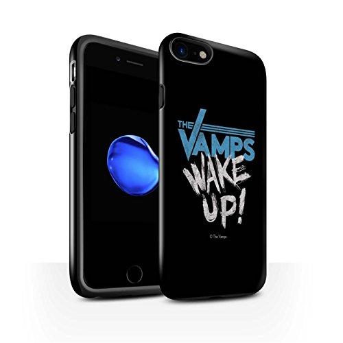 Officiel The Vamps Coque / Brillant Robuste Antichoc Etui pour Apple iPhone 7 / Réveillez-Vous! Design / The Vamps Graffiti Logo Groupe Collection Réveillez-Vous!