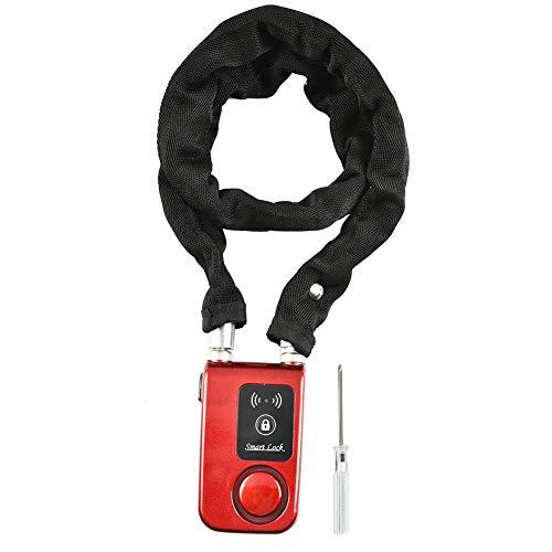 ASHATA Candado de Bicicleta Antirrobo,Bloqueo de Seguridad Bluetooth I