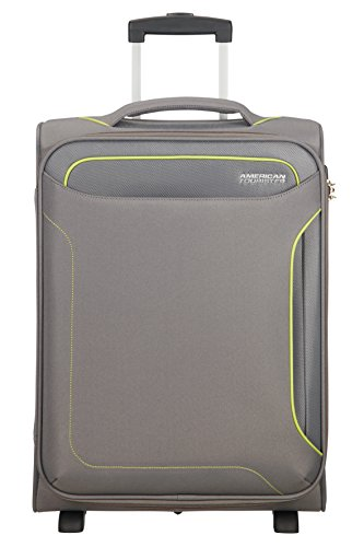 American Tourister Holiday Heat Upright, 2.5 kilograms Koffer, 55 cm, 42 Liter, Metal Grey