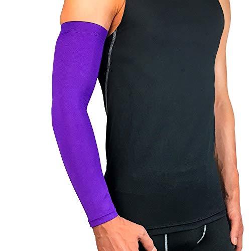 Easty 2 Packungen Basketball armschutz verlängern ellenbogen armschienen Motion schutzausrüstung männer und Frauen atmungsaktiv Sonnencreme reiten Angeln Bergsteigen Laufen hülse (Basketball Kostüm Muster)