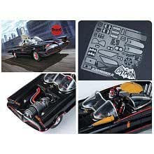 BATMOBILE 1/25 SCALE MODEL KIT DELUXE EDITION by POLAR LIGHTS (English Manual)