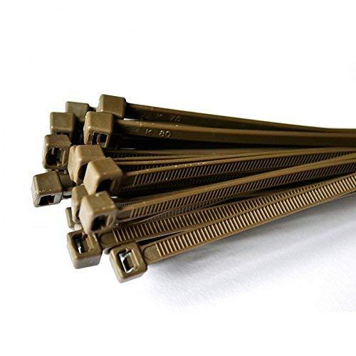 200 x Kabelbinder, Nylon, 100 mm x 2,5 mm