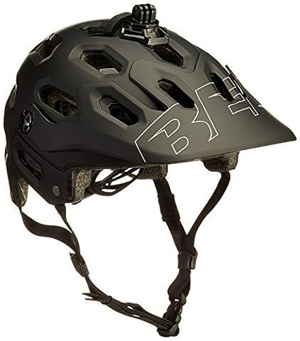 Bell Erwachsene Super 3 Fahrradhelm, Matte Black/White, M