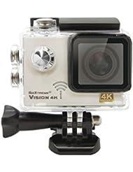 GoXtreme 20129 Vision 4K UltraHD Action Kamera (5 cm (2 Zoll), 12,4 Megapixel) silber