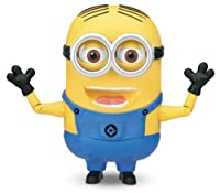 """Despicable Me 2 Laughing 8"""" Figure Minion Dave"""