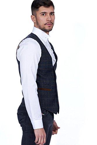 Marc Darcy - Blazer - Blazer - Homme Navy Waistcoat